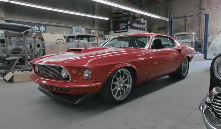 Bodie Stroud's 1969 Mustang