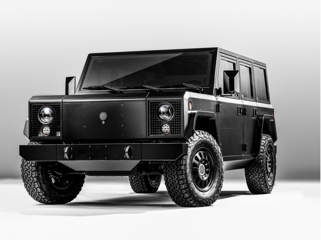 Bollinger's rugged electric SUV and pickup reach prototype stage