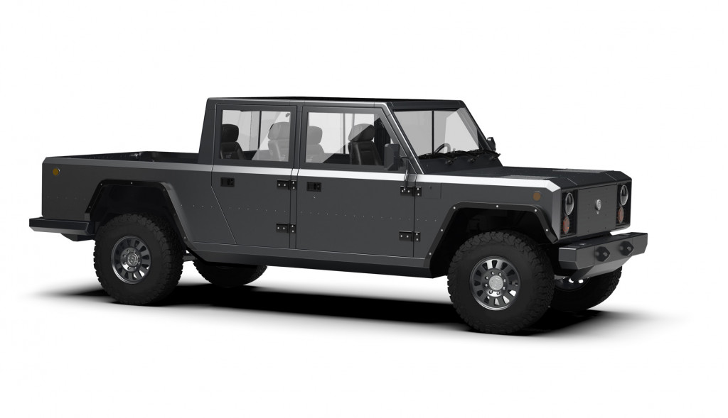 Prototypes for Bollinger electric SUV and pickup coming Sept. 26