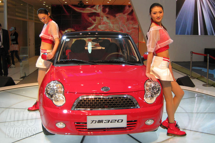 Booth professionals of the 2009 Shanghai Motor Show