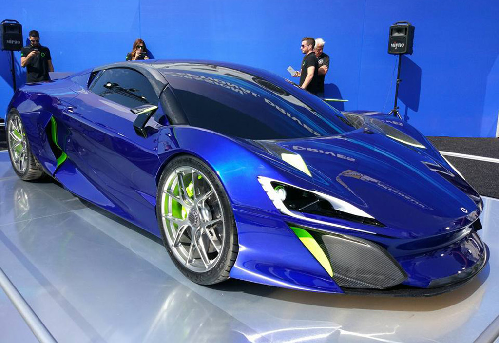 Spanish Startup Unveils 1 000 Horsepower Boreas Supercar