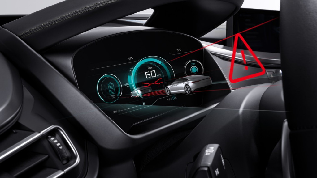 Bosch is working on 3D digital gauge clusters