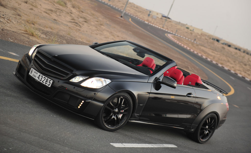 Brabus Builds World S Fastest Four Seater Convertible