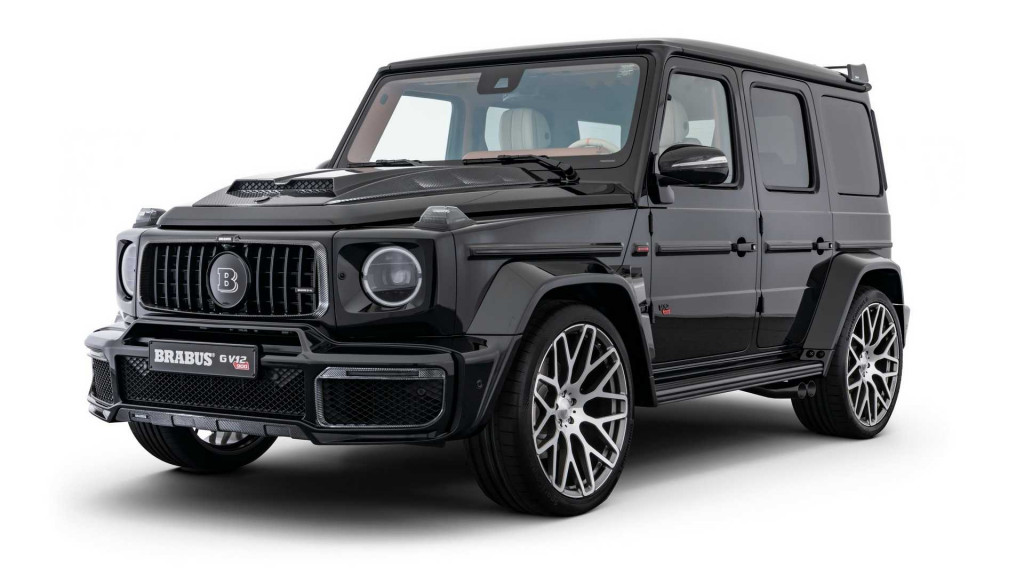 You can still get a V-12-powered G-Class, but it's built by Brabus