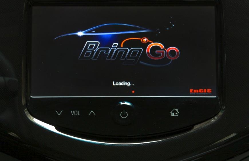 BringGo app, in 2013 Chevrolet Spark