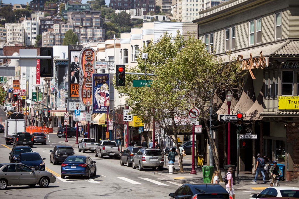 Broadway in San Francisco (Matt Dayka/For Motor Authority)