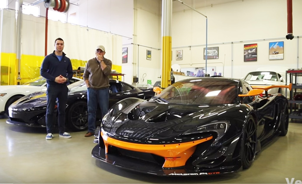 Meet The Guy With The First Mclaren P1 Gtr In The U S Video