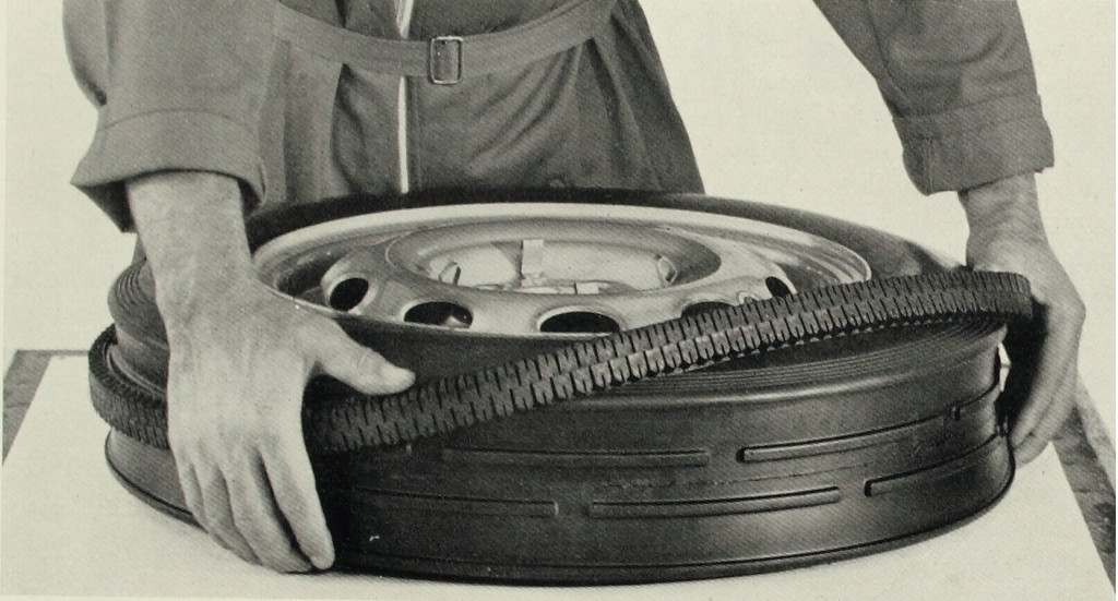 60 years ago, Pirelli launched a tire with interchangeable tread