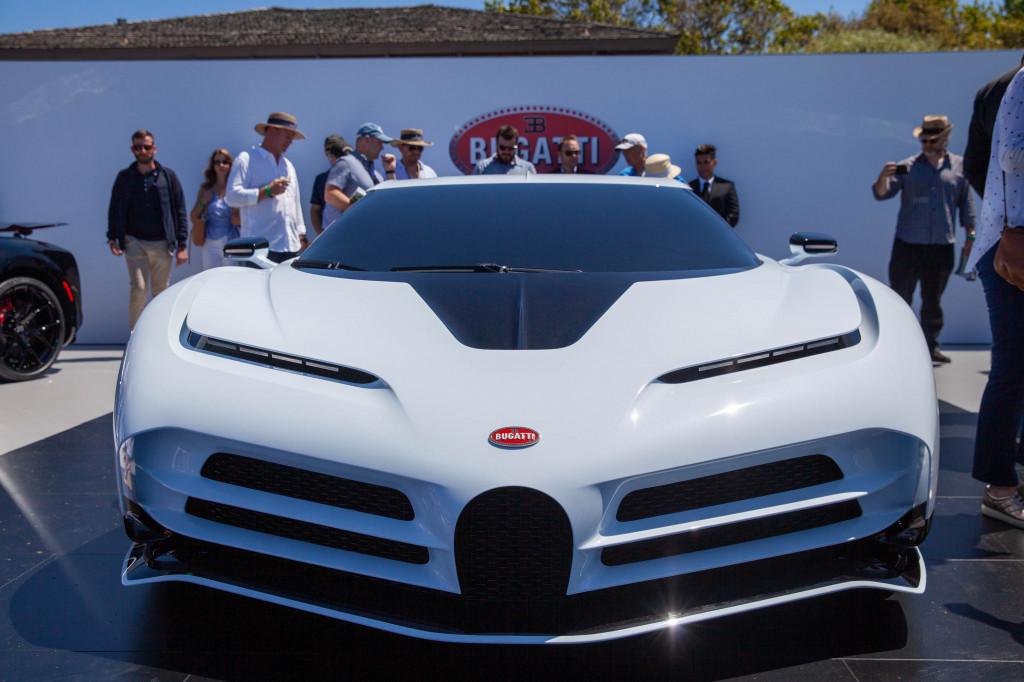 Bugatti Centodieci reveal