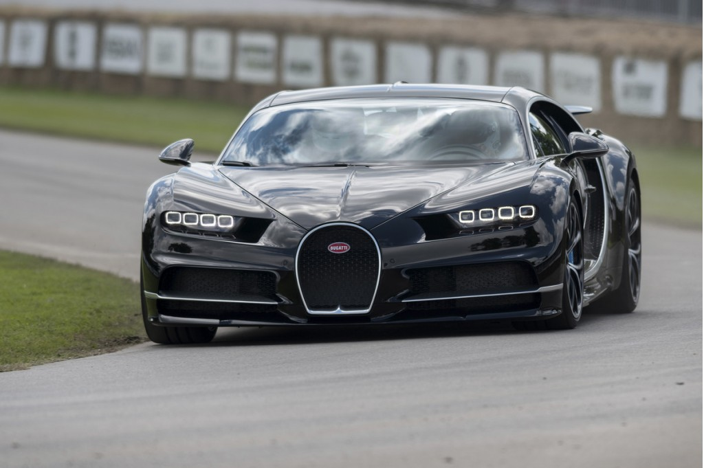 Bugatti Chiron at the 2016 Goodwood Festival of Speed