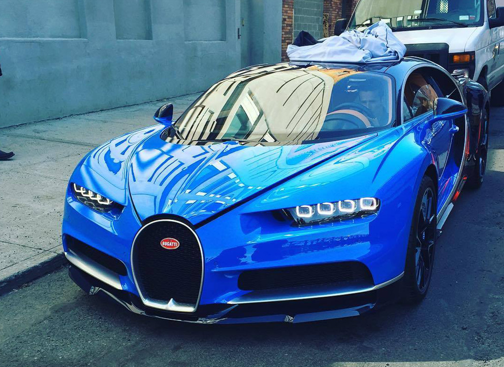 Bugatti Chiron Spotted On The Streets Of New York City