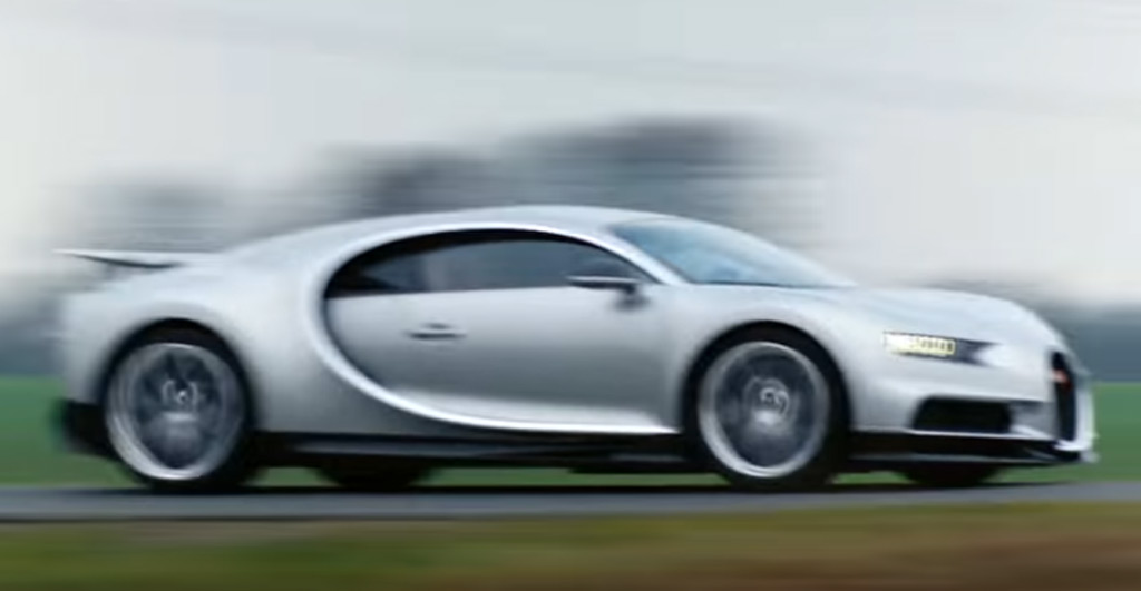 'The Grand Tour' first to test Bugatti Chiron