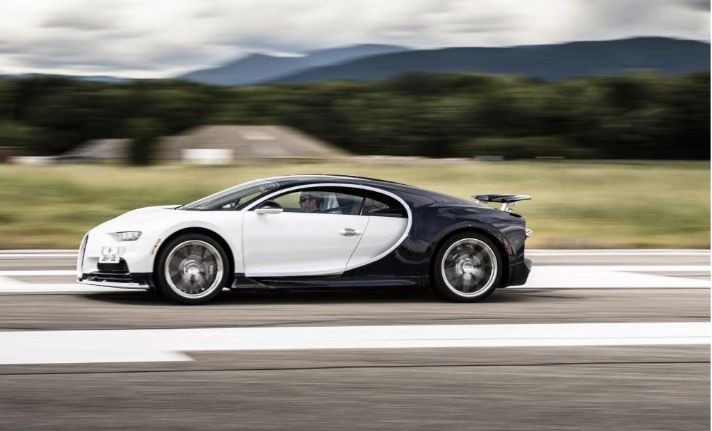 Bugatti Chiron production in Molsheim, France