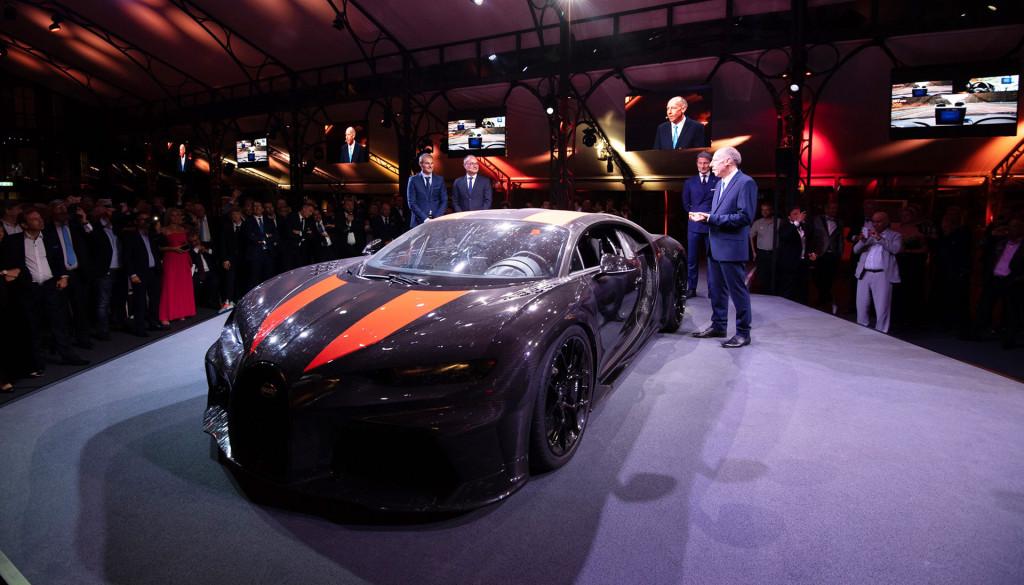 Bugatti Chiron Super Sport 300+ world record car