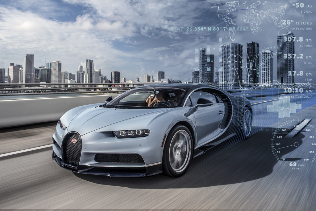 Bugatti owners can rest easy as technicians monitor cars in real time