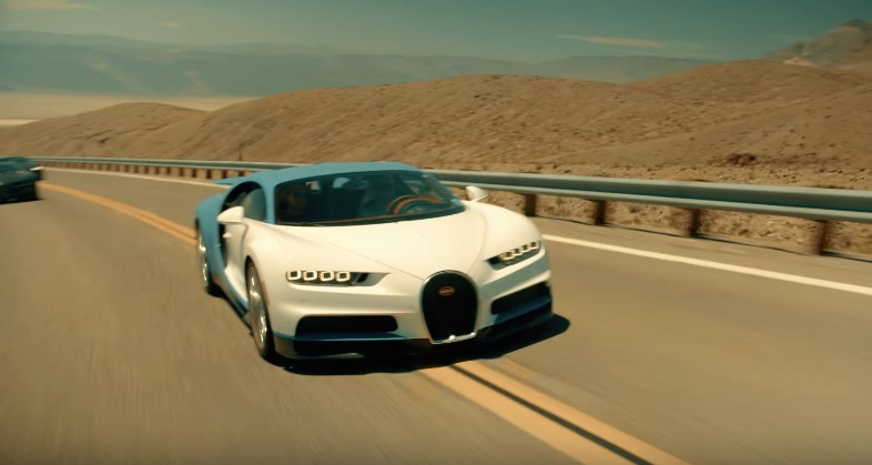 Bugatti Chiron put through its hot weather paces
