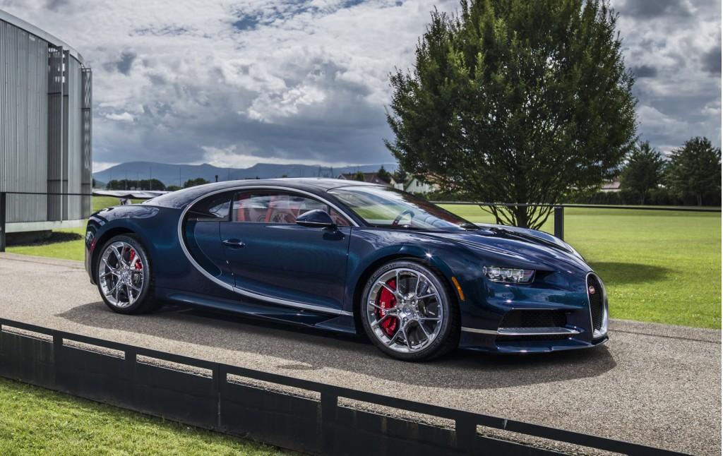 Bugatti Chiron and Vision Gran Turismo head to Monterey Car Week