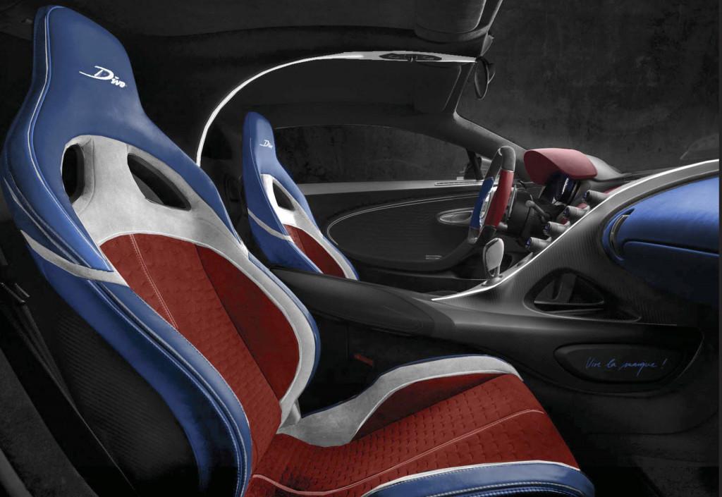 Bugatti Divo customer car