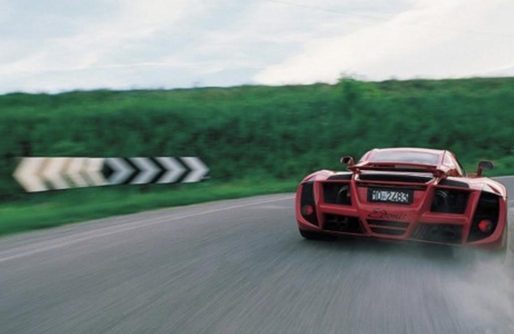 Bugatti EB 110 becomes SP-110 Edonis Fenice