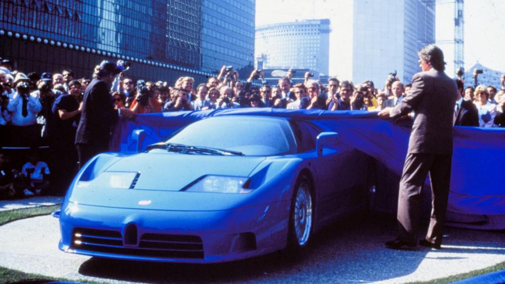 Bugatti EB 110 unveiling
