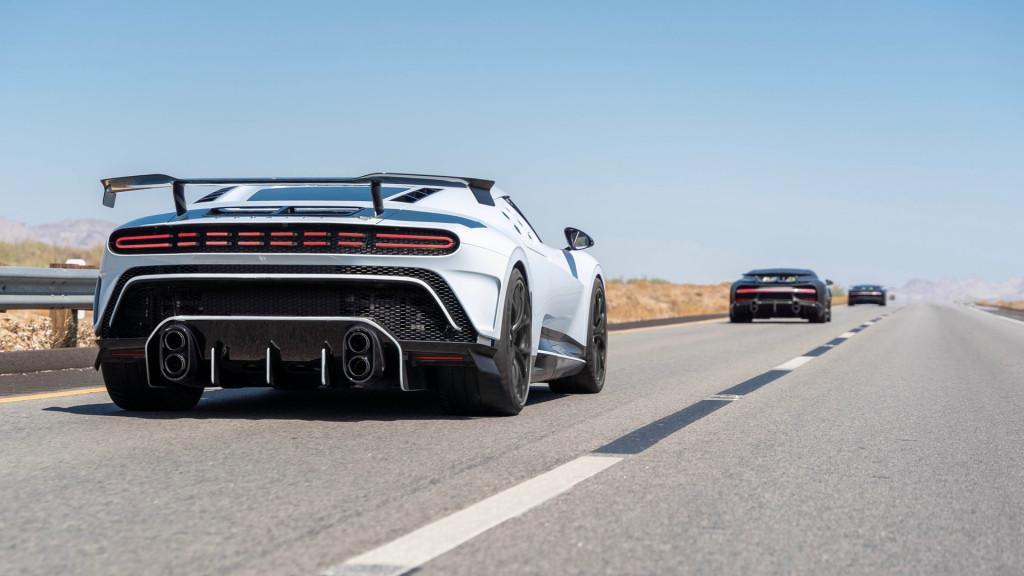 Bugatti Centodieci completes hot weather testing