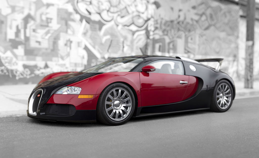 very first bugatti veyron sells for $1.8 million at monterey auction