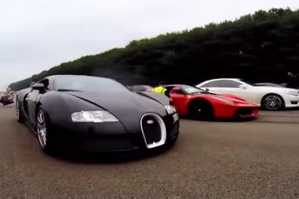 Laferrari Demolishes Bugatti Veyron In Drag Race Video