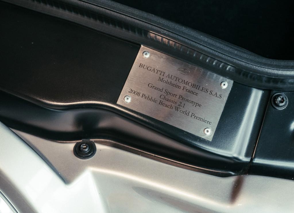 Bugatti Veyron Grand Sport prototype #001
