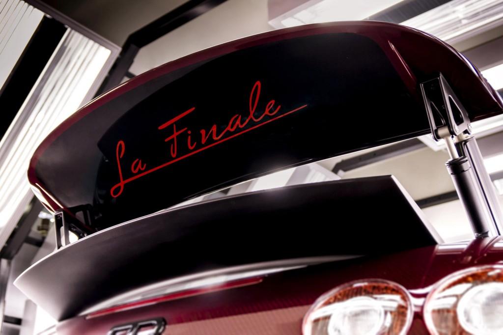 Bugatti Veyron Grand Sport Vitesse La Finale, the final Veyron