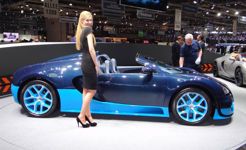 Bugatti Veyron Grand Sport Vitesse live photos