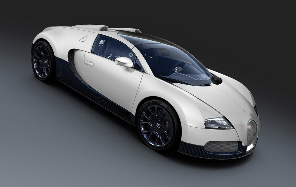 Bugatti Veyron Super Sport Black Carbon And Grand Sport Matte White Debut In Shanghai