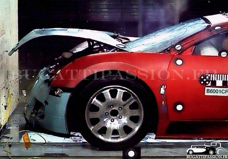 Gruesome Images From Bugatti Veyron Crash Test