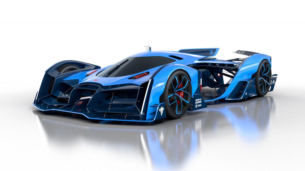 Bugatti Vision Le Mans concept by Max Lask