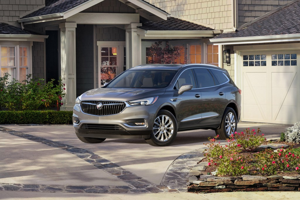 autoblog gallery buick photo enclave photos