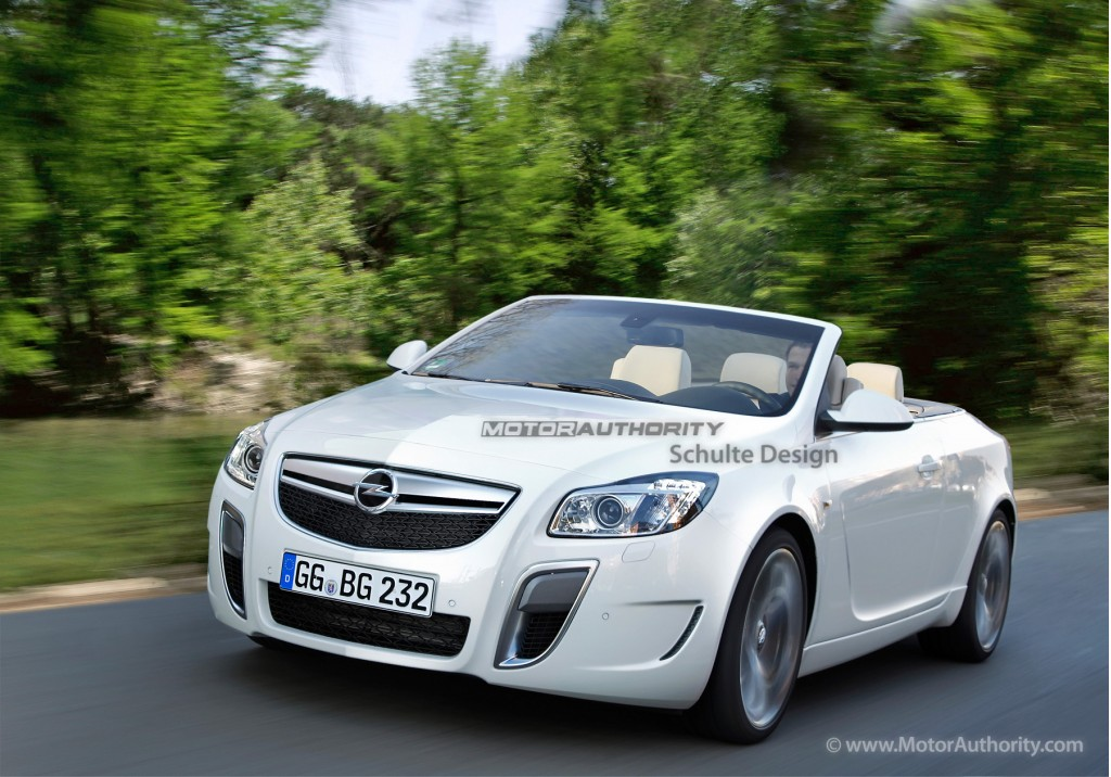 Image: Buick Regal/Opel Insignia convertible preview rendering, size: 1024 x 716, type: gif ...