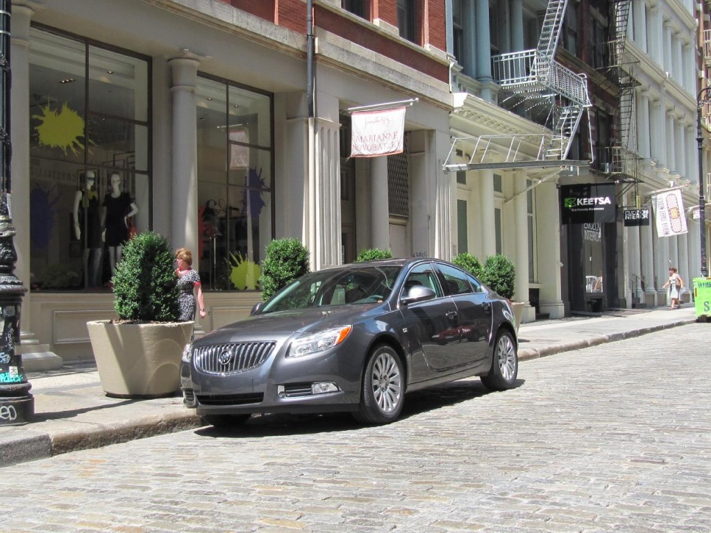 Image 2011 buick regal cxl in new york city 39 s soho for Motor city towing detroit michigan