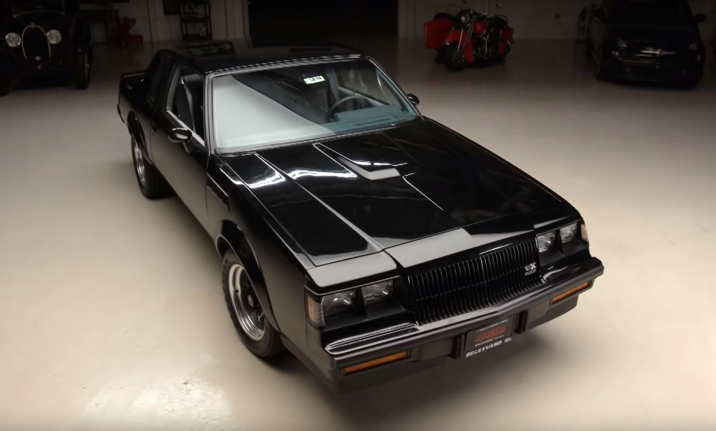 An unsold 1987 Buick GNX visits Jay Leno's Garage
