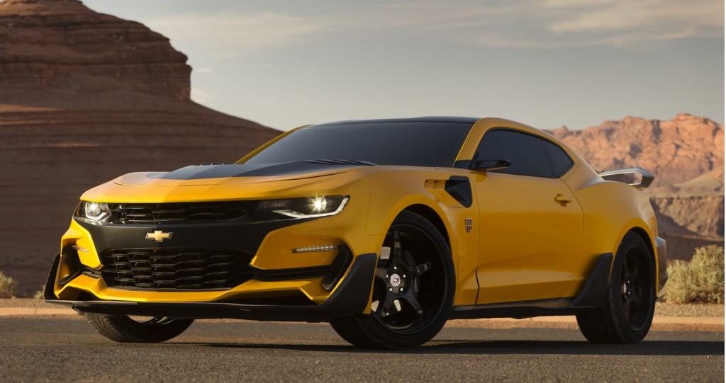 Bumblebee Chevrolet Camaro from 'Transformers: The Last Knight'
