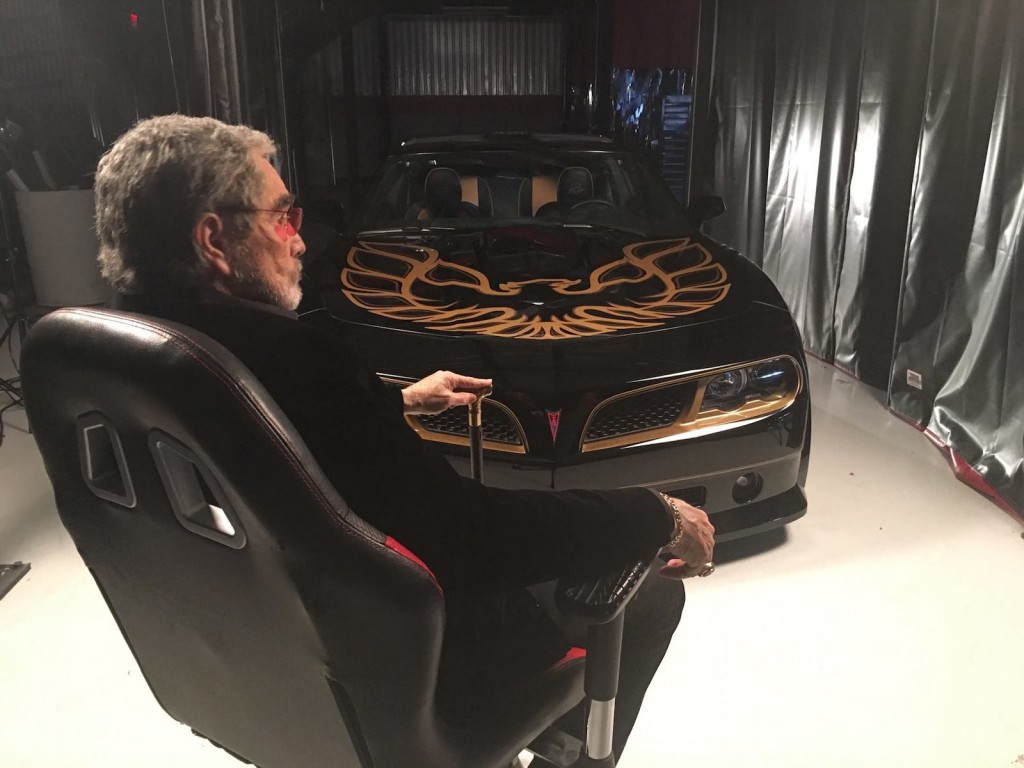 Burt Reynolds introduces the new Bandit Trans Am Video