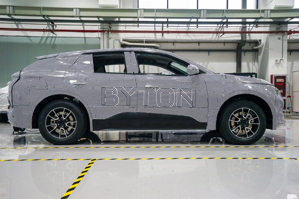 Byton M-Byte electric SUV prototype