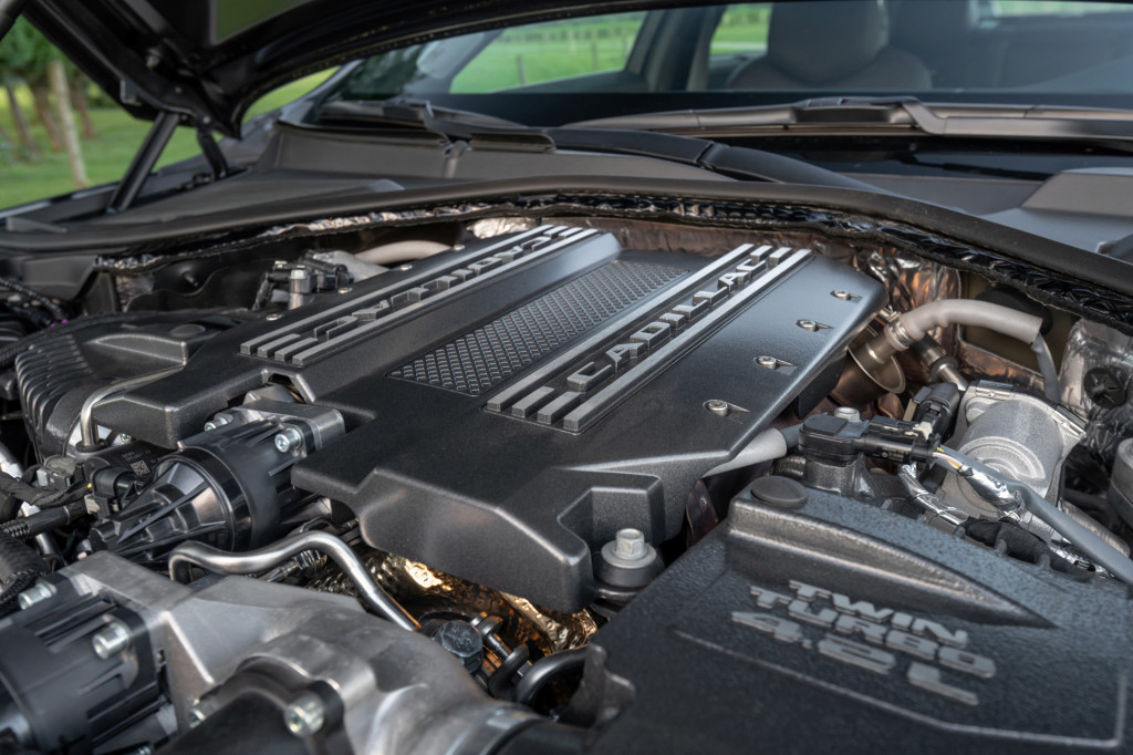 Cadillac could be underrating the performance of its Blackwing V-8