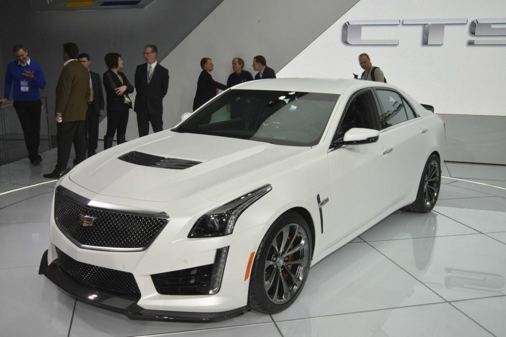 2016 Cadillac Cts V Live Photos 2017 Detroit Auto Show