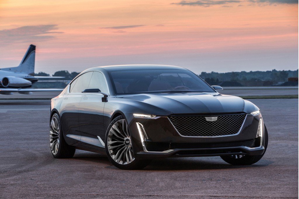 Patent drawings hint at Cadillac Escala-inspired coupe
