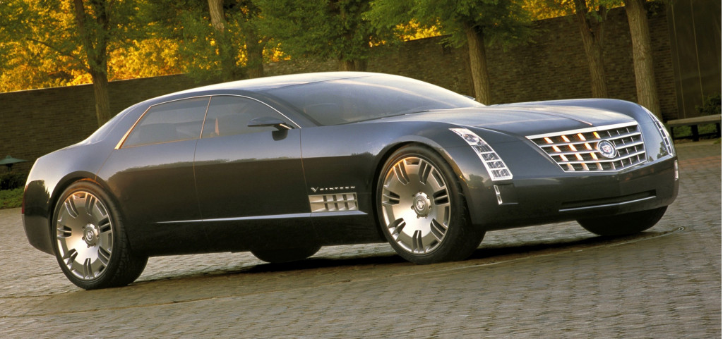 Cadillac produced another V16 engine and wrapped it with the Cadillac Sixteen concept car