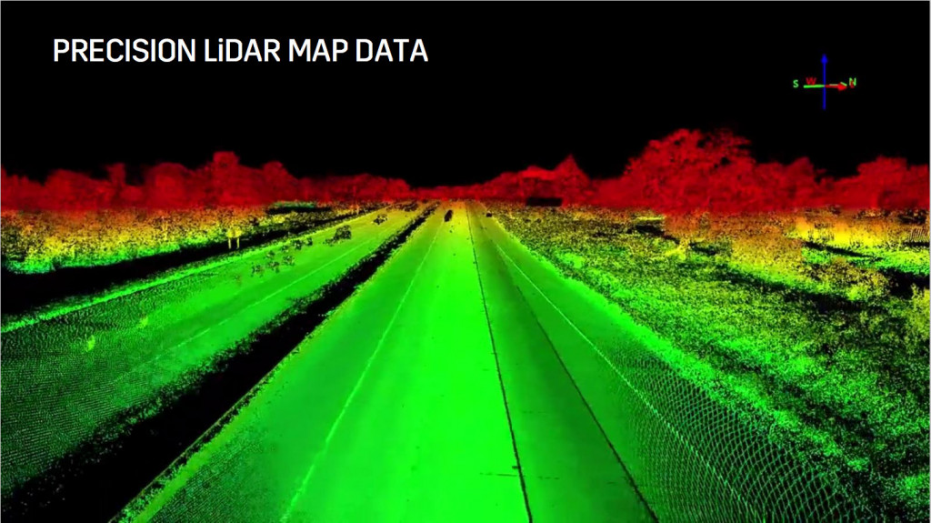 Cadillac Super Cruise LiDAR scan