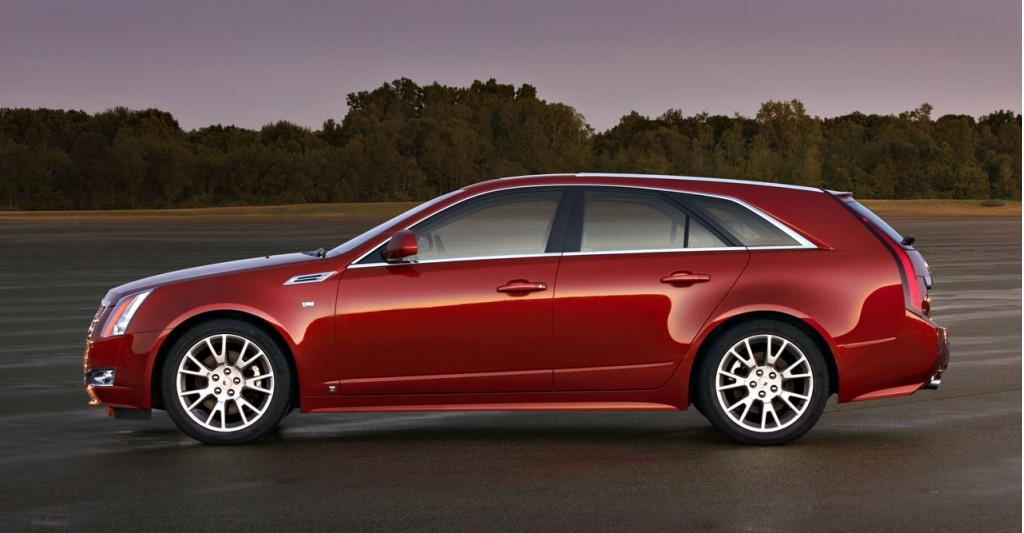 Image: 2010 Cadillac CTS Sport Wagon, size: 1024 x 533 ...