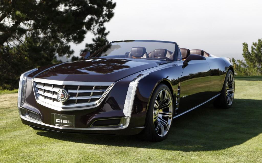 Cadillac Ciel four-seat convertible concept launch in Carmel, California, Aug 2011