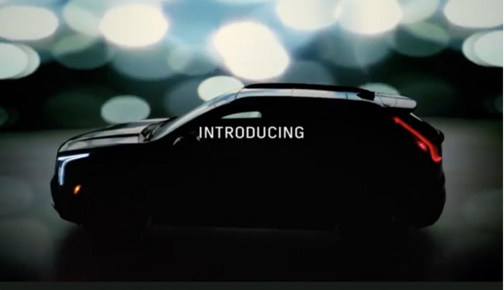 2019 Cadillac XT4 teased in Oscars ad
