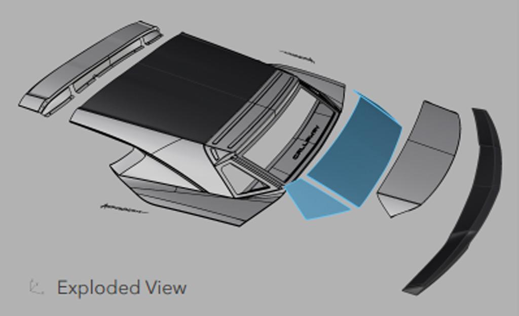 Callaway C21 AeroWagon based on the C7 Chevrolet Corvette