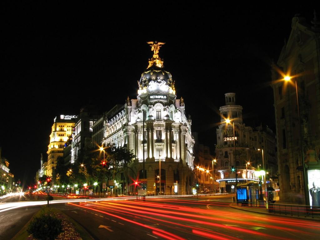 Calle de Alcalá in Madrid, Spain (photo by Antonio García Rodríguez)